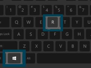 Συντόμευση Windows + R